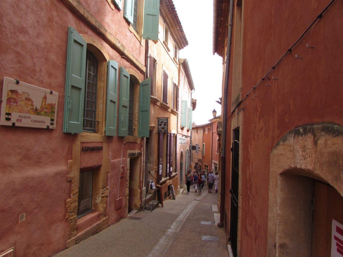 calles roussillon provence