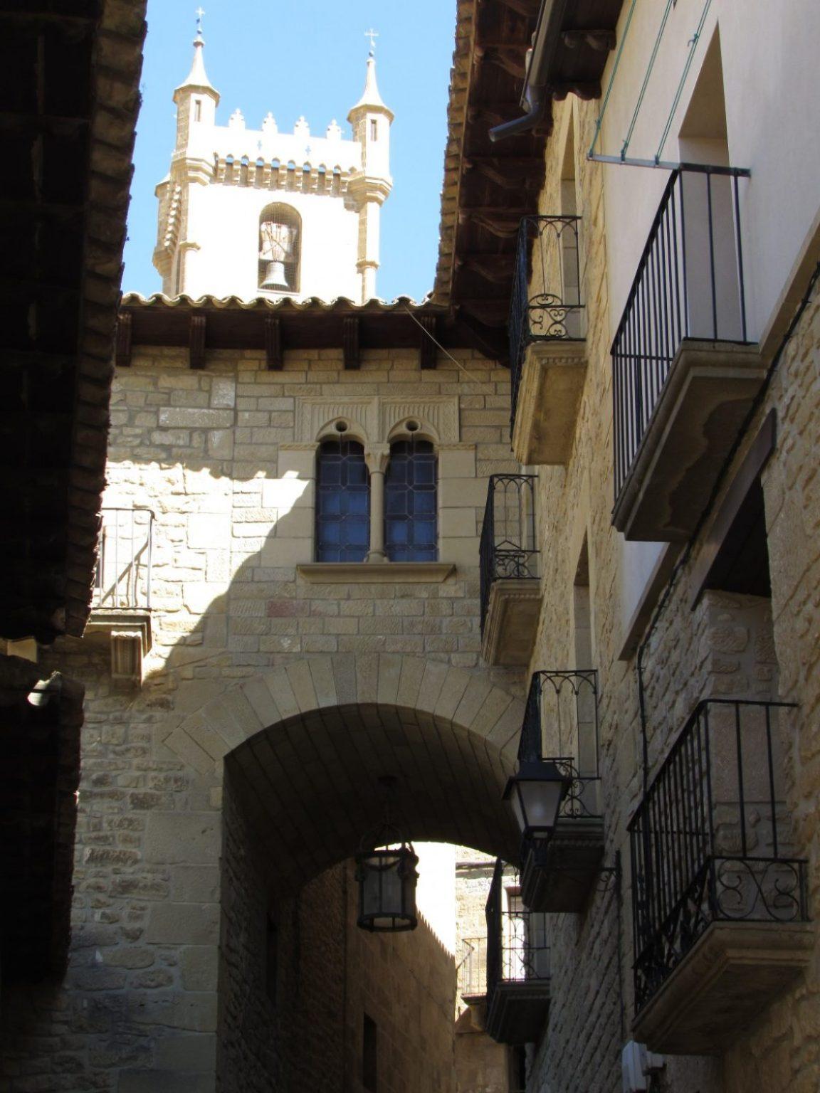 Calle medieval de Uncastillo