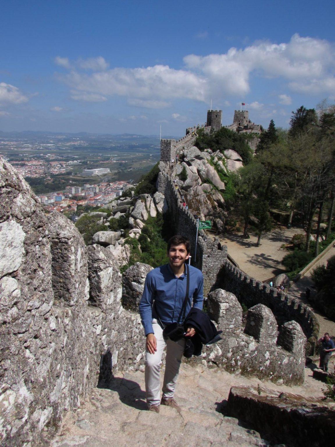castelo dos mouros muralla