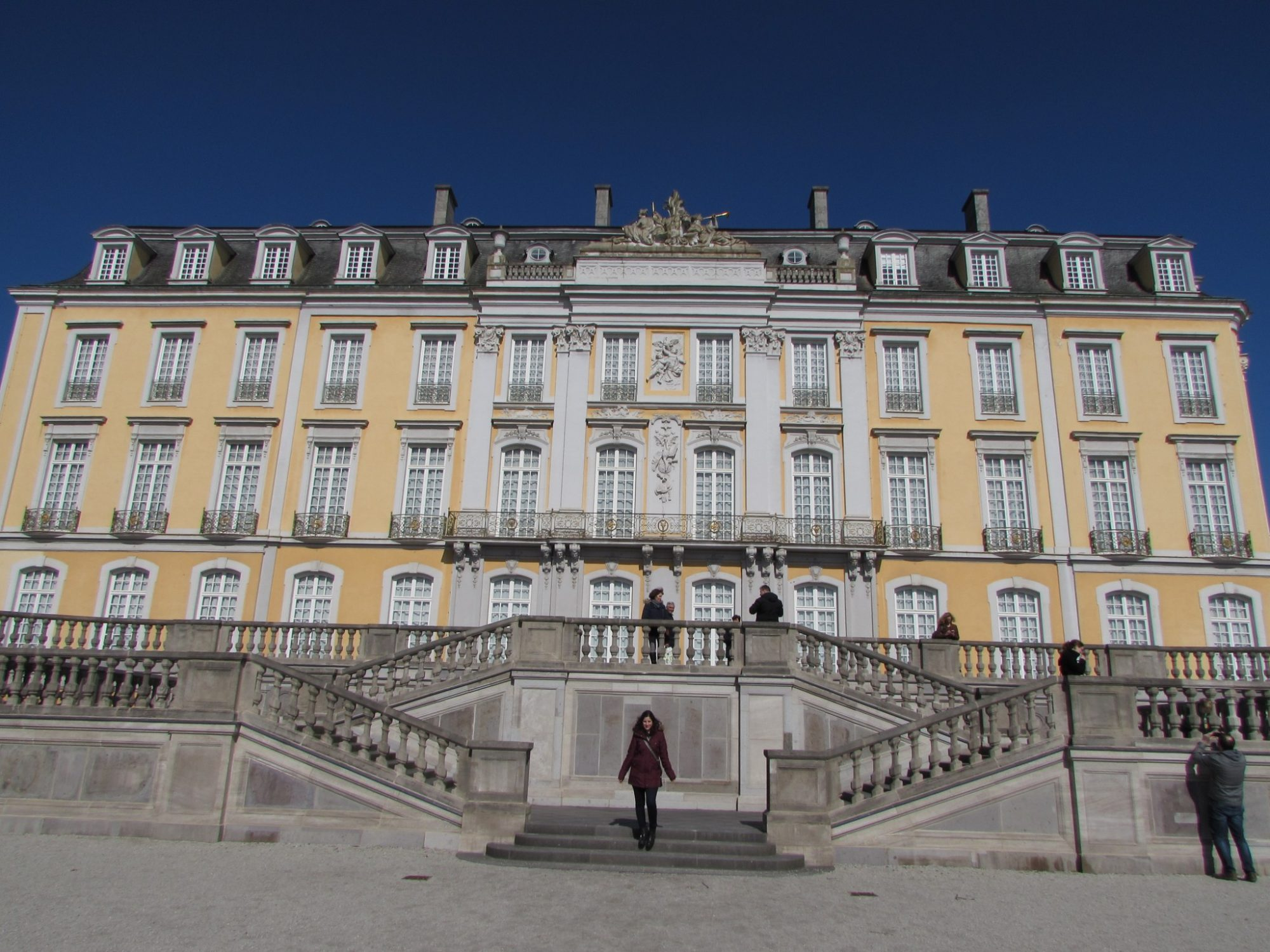 Fachada del Palacio de Augustusburg