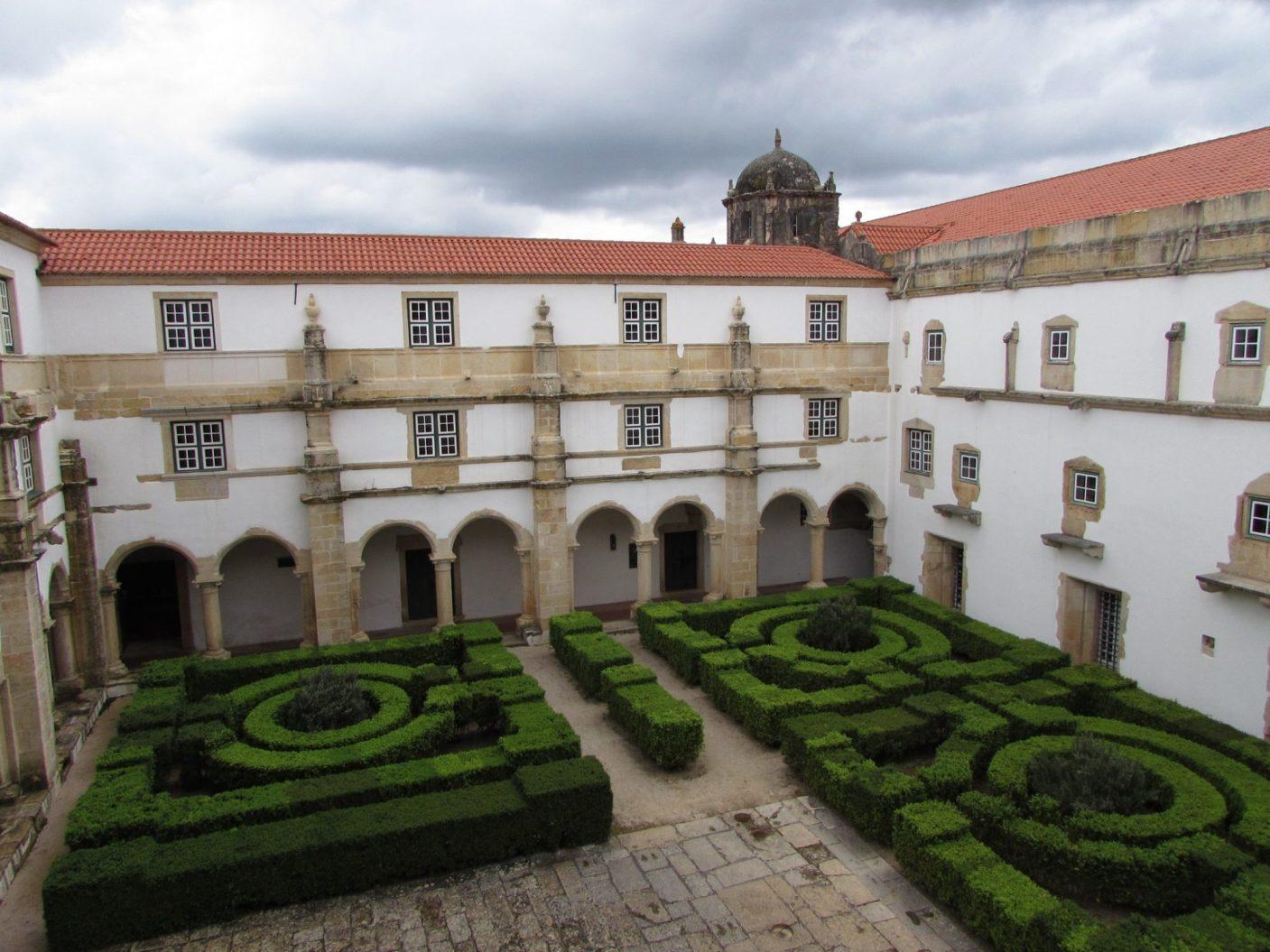 Patios del Convento de Cristo, Tomar