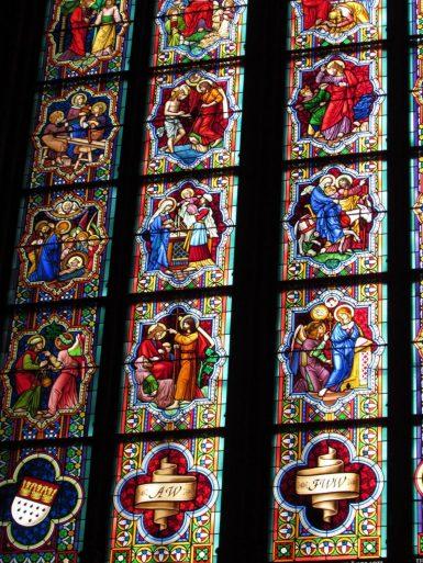vidrieras catedral de colonia