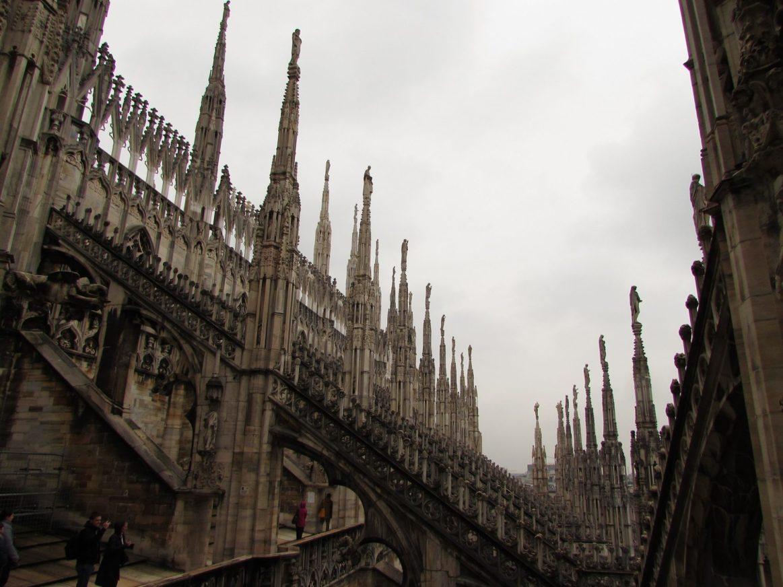 terrazas catedral de Milán