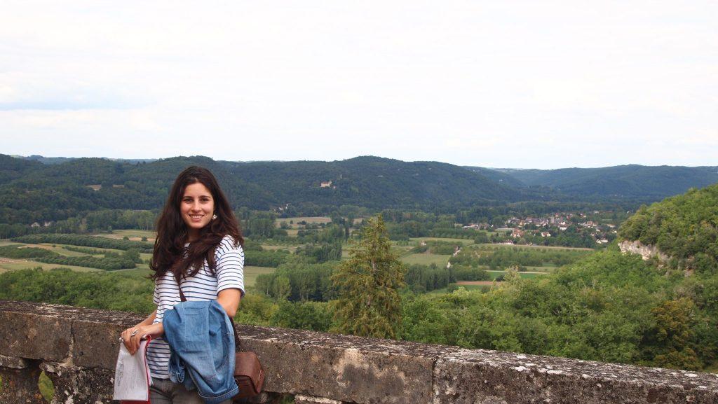 terraza del Chateau de Fenelon