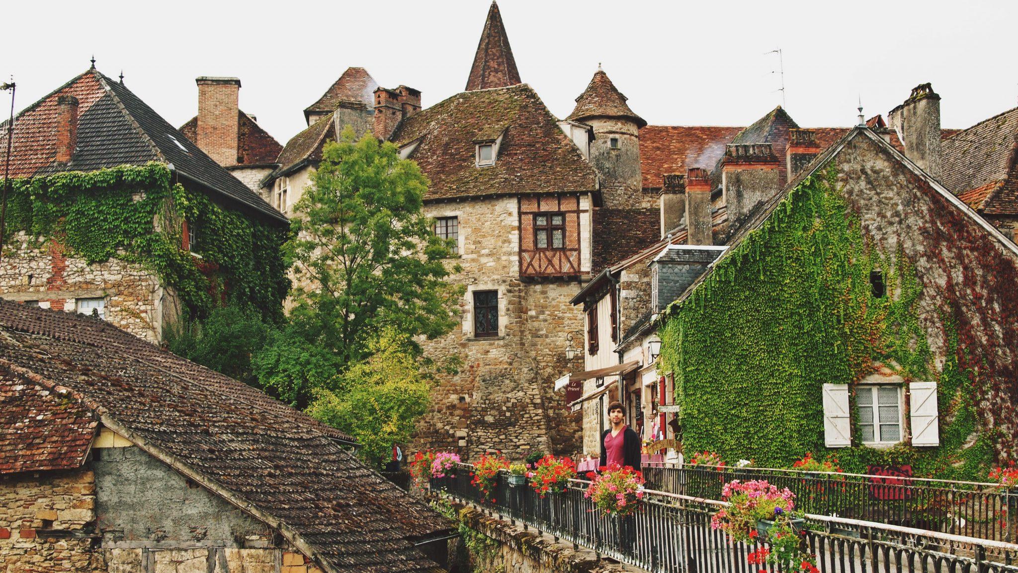 pueblos bonitos francia carennac