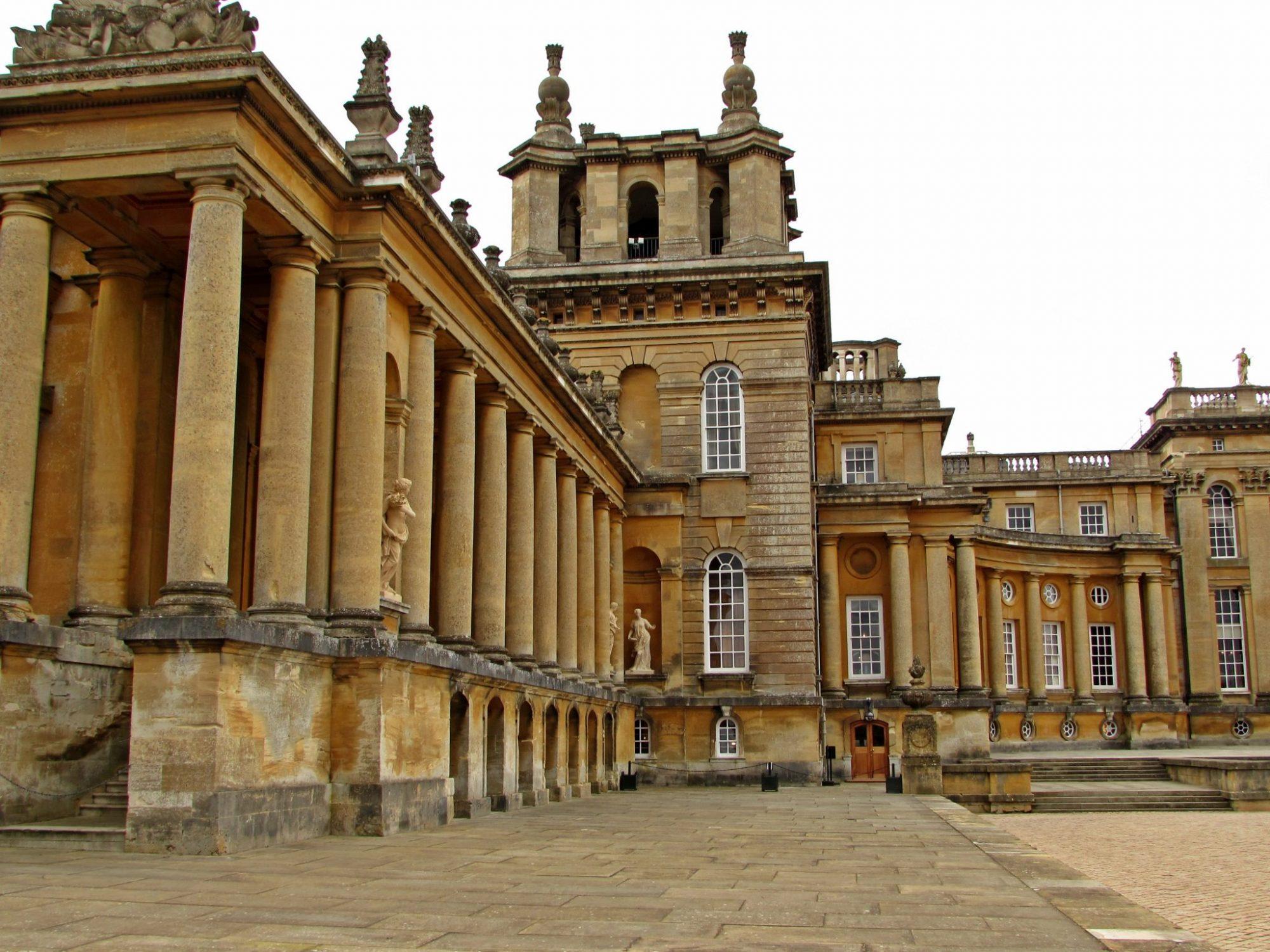 palacio de blenheim oxfordshire
