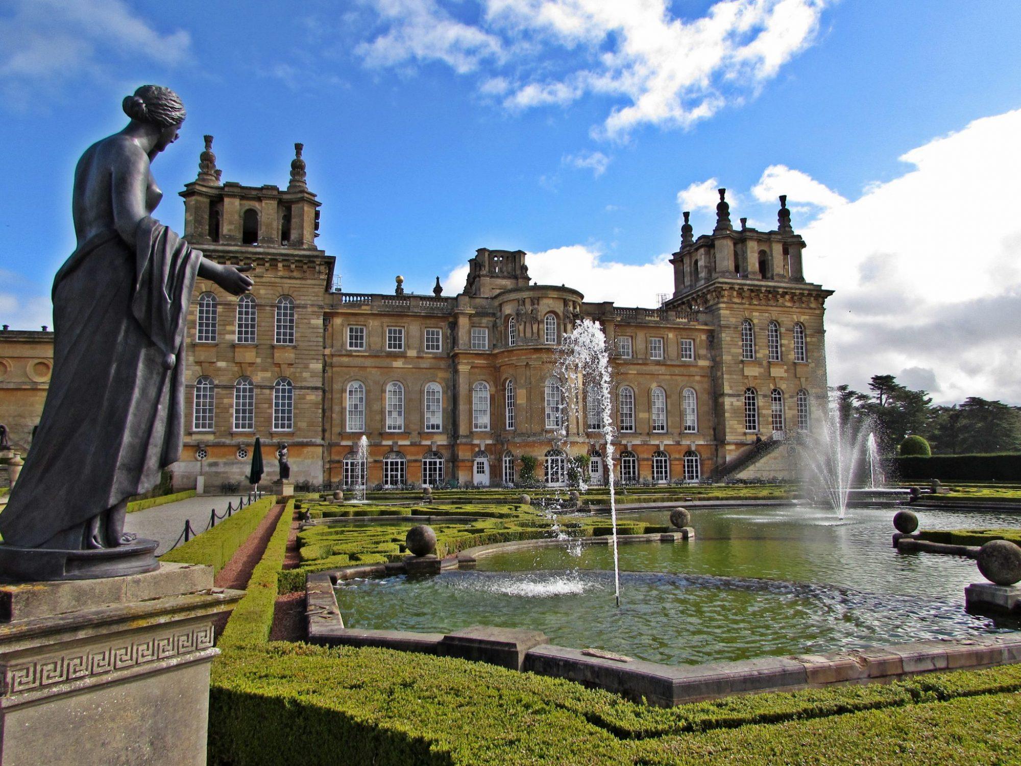 Jardines formales del Palacio de Blenheim