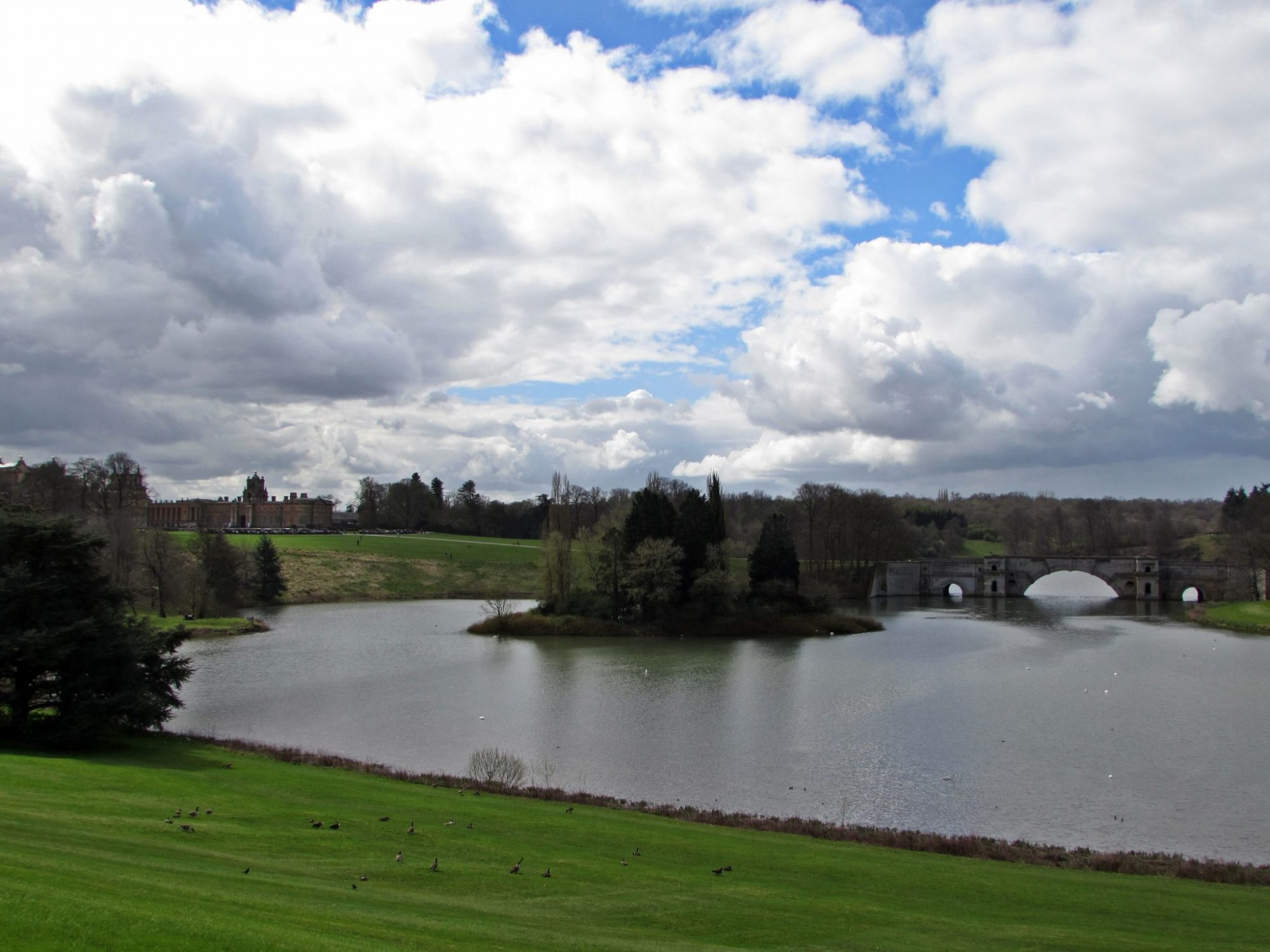 Queen Pool en el Palacio de Blenheim