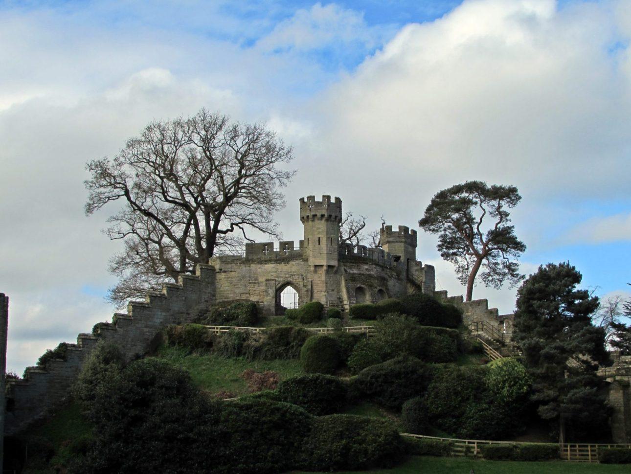 Murallas del castillo de Warwick