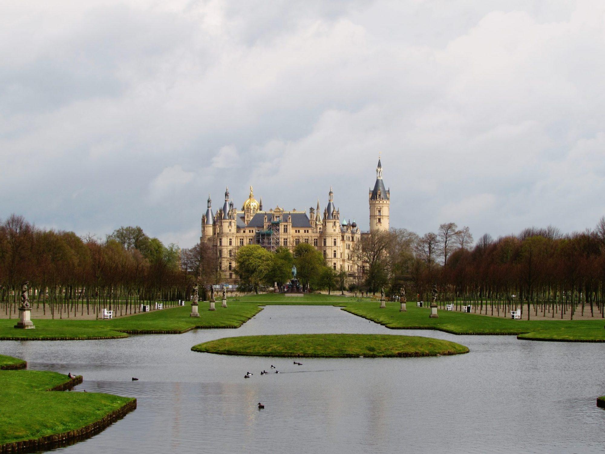 Jardines del Palacio de Schwerin