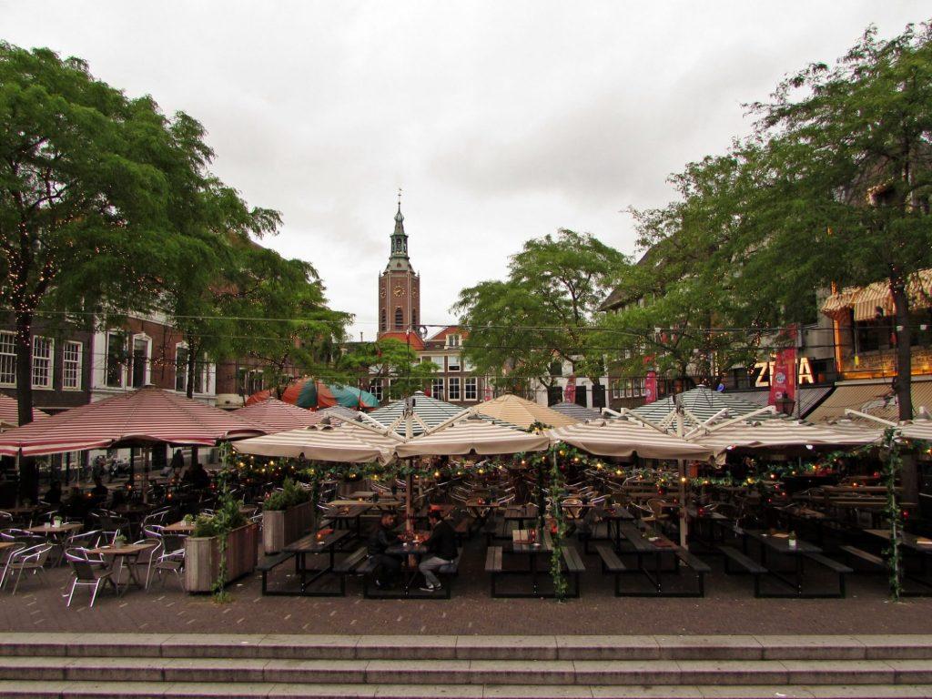 Grote Markt y sus terrazas - La Haya