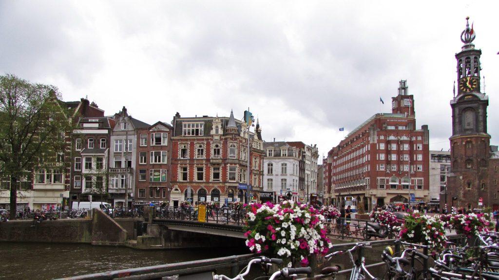 Munttoren en Amsterdam