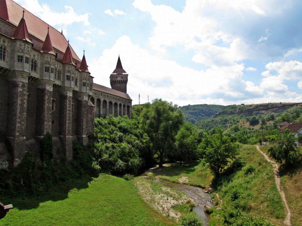 Castillo de Hunyad vistas