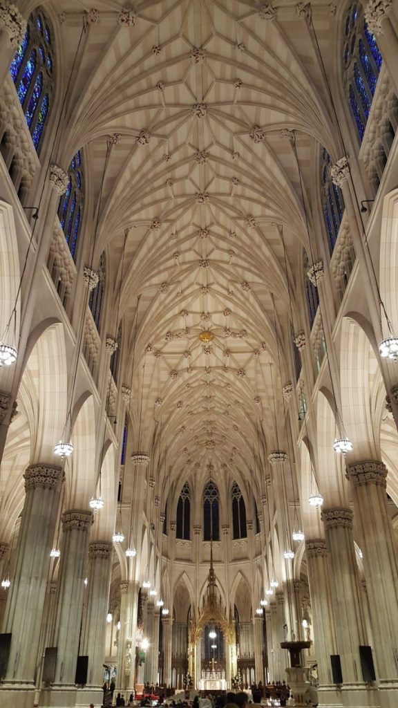 interior catedral san patricio