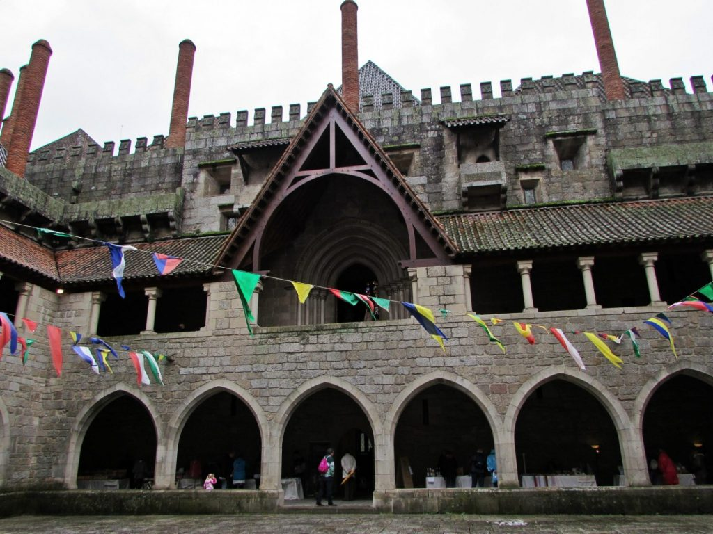 Patio interior del Palacio de los Duques de Braganza