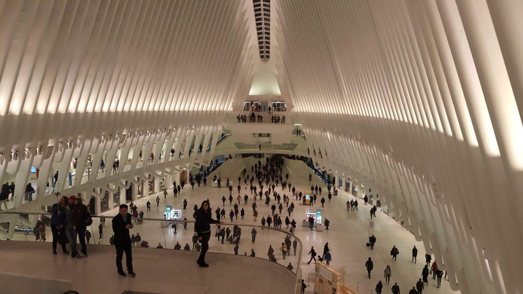 calatrava interior lower manhattan