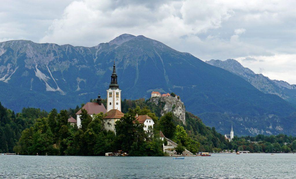 Vistas del Lago Bled - Eslovenia