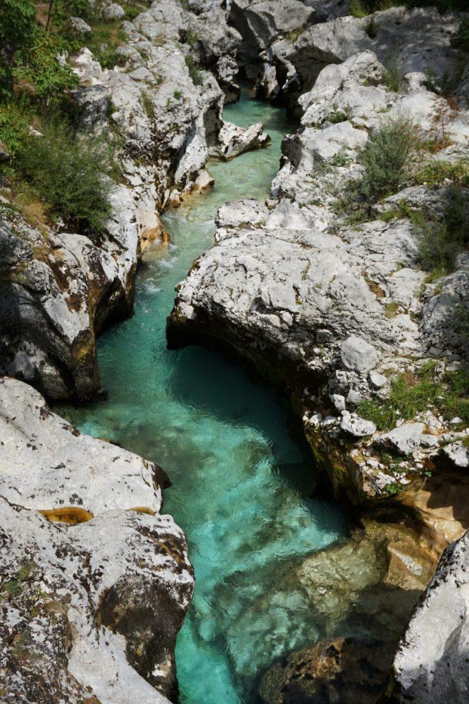 Río Soca, Eslovenia