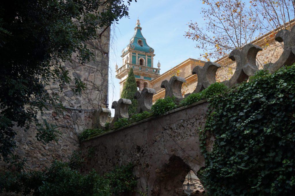 Campanario de la Cartuja desde el Palacio del Rey Sancho