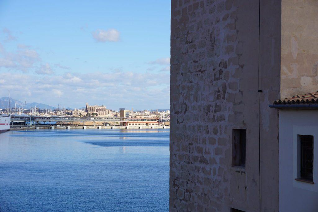 La ciudad de Palma desde el Faro de Portopi