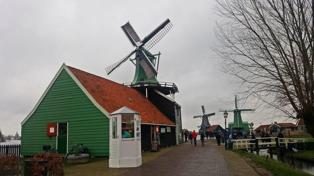 Molino de entrada gratuita - Zaanse Schans