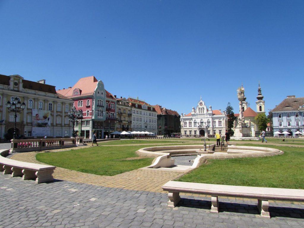 Plaza Unirii - Timisoara