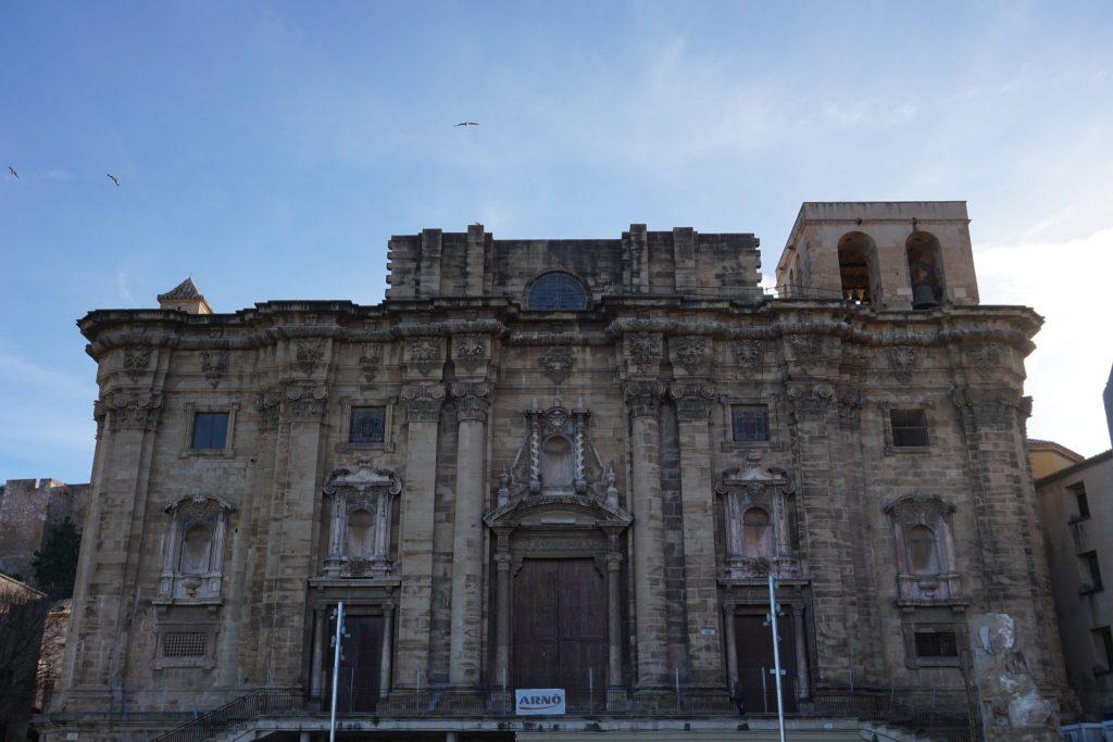 Fachada de la catedral de Tortosa, Tarragona