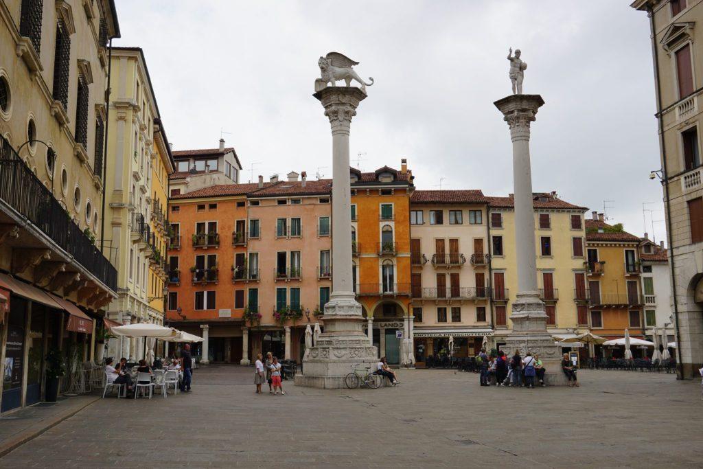 columnas piazza del Signori