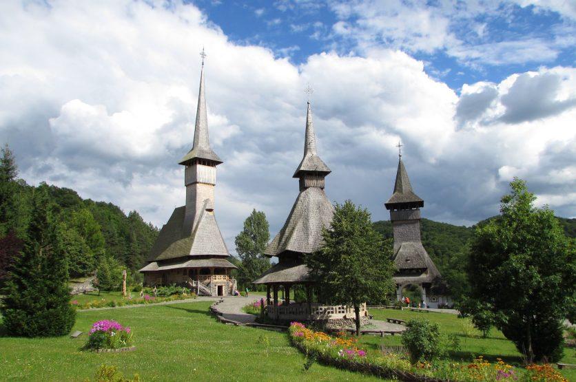 Monasterio de Barsana, Maramures, Rumania