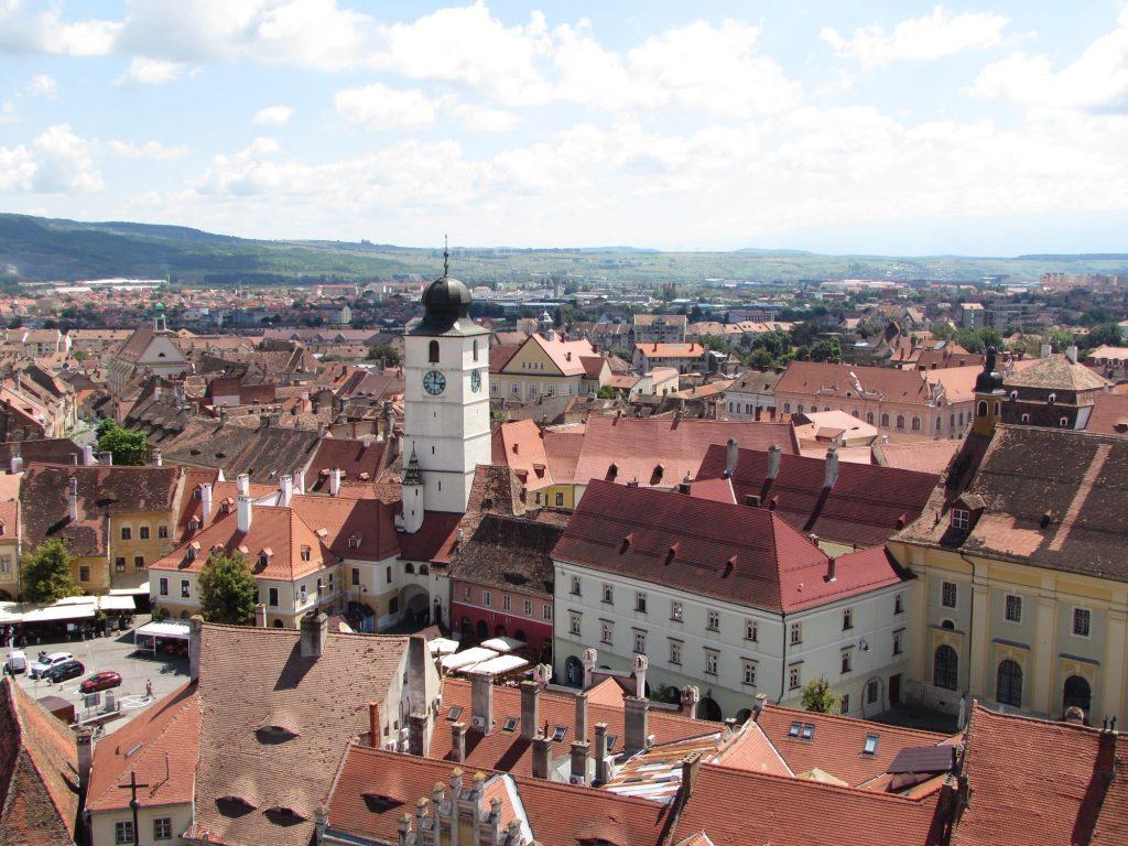 Torre del Ayuntamiento de Sibiu