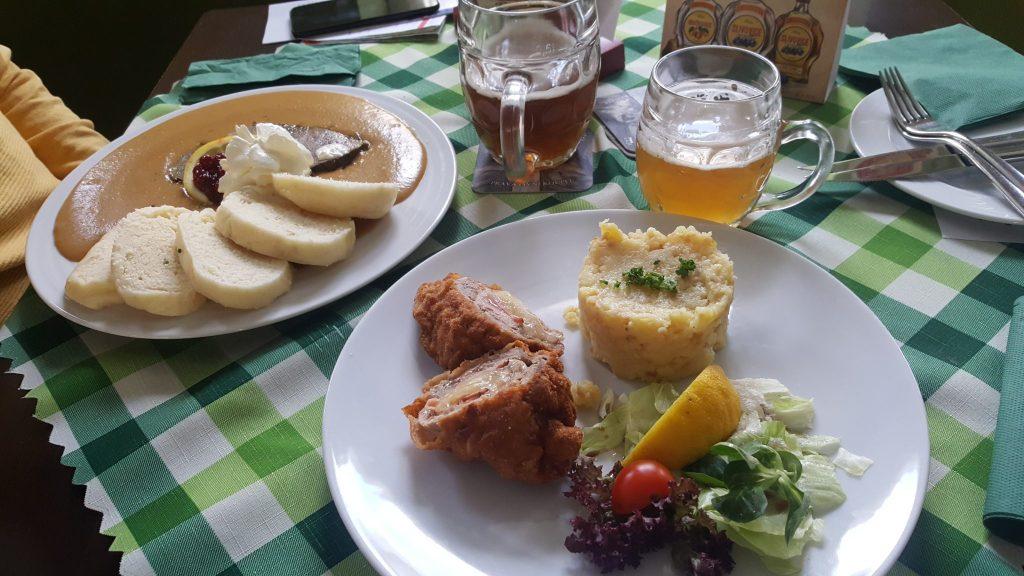 Comida checa. Presupuesto República Checa
