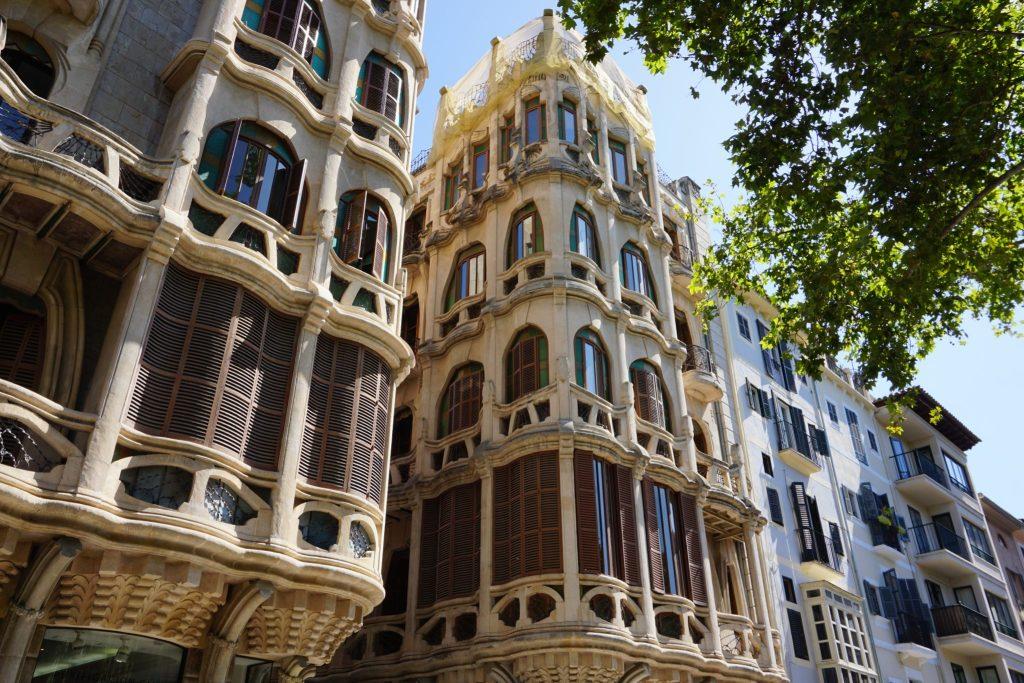 Can Casasayas - Ruta modernista por el centro de Palma