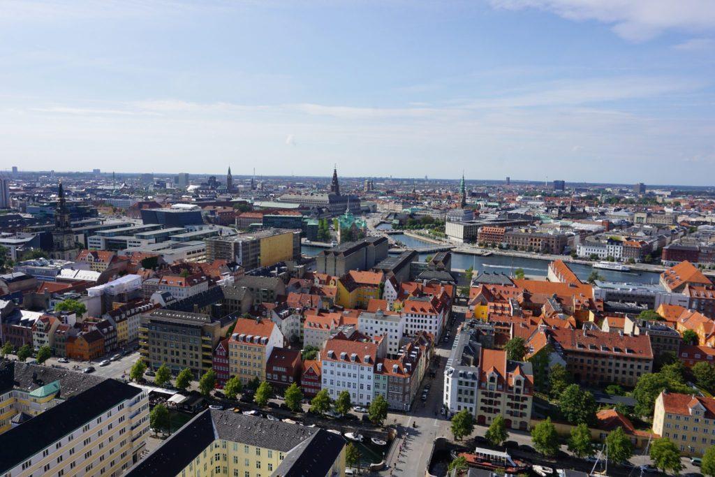 Torre de la iglesia de San Salvador - Mejores miradores de Copenhague