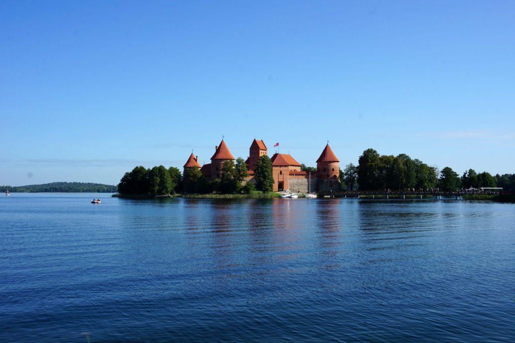 Castillo de Trakai, una visita imprescindible en Lituania