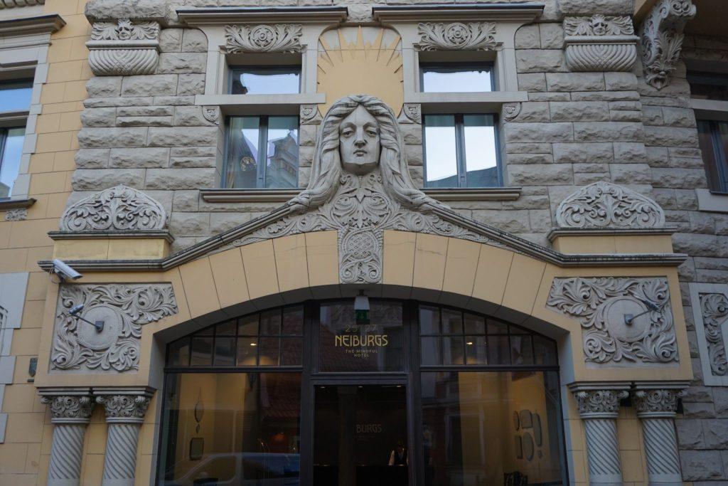 Art Nouveau en Riga (Jauniela iela)