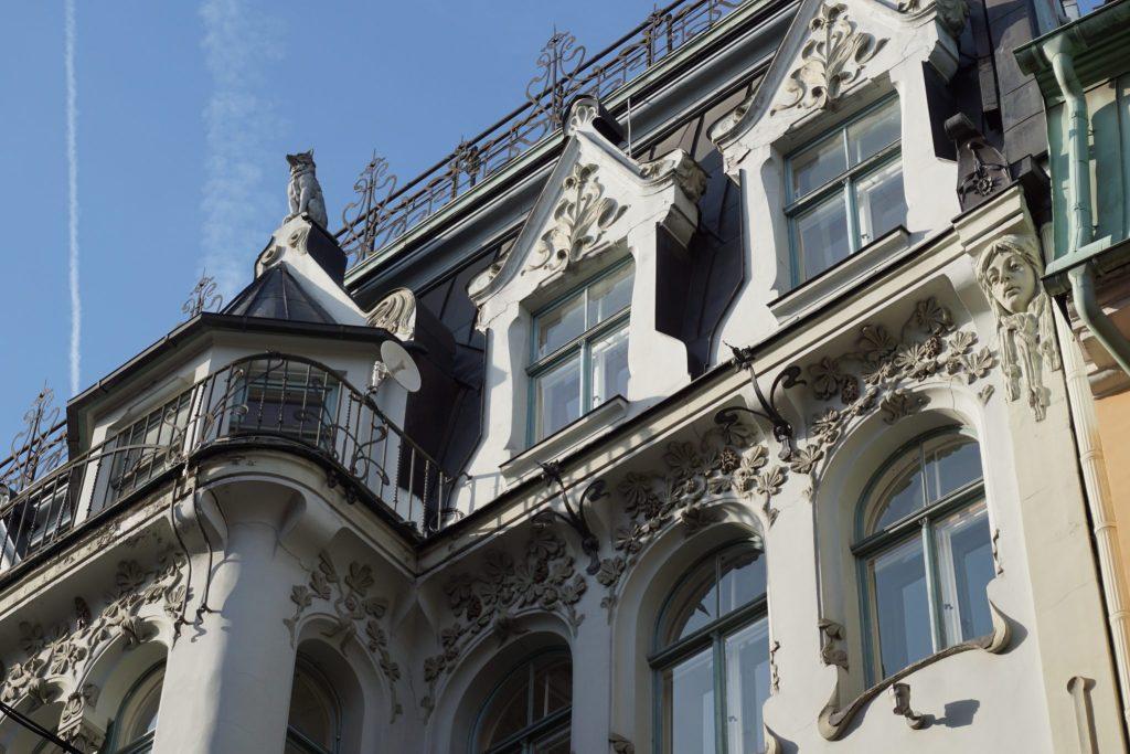 Ruta del modernismo - Art Nouveau en Riga