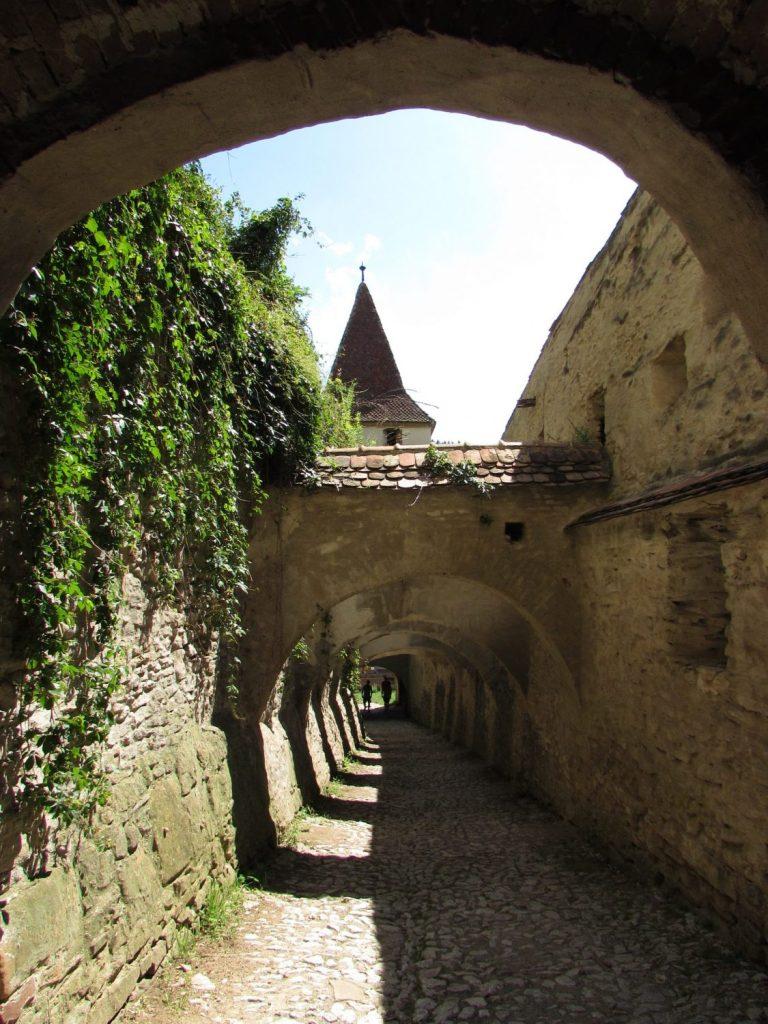 Entre las murallas de Biertan