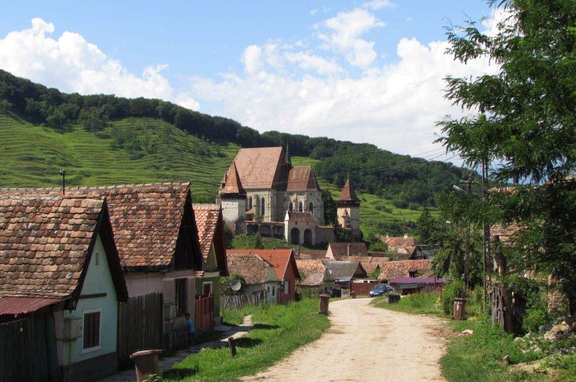 Iglesias fortificadas de Transilvania, Rumania