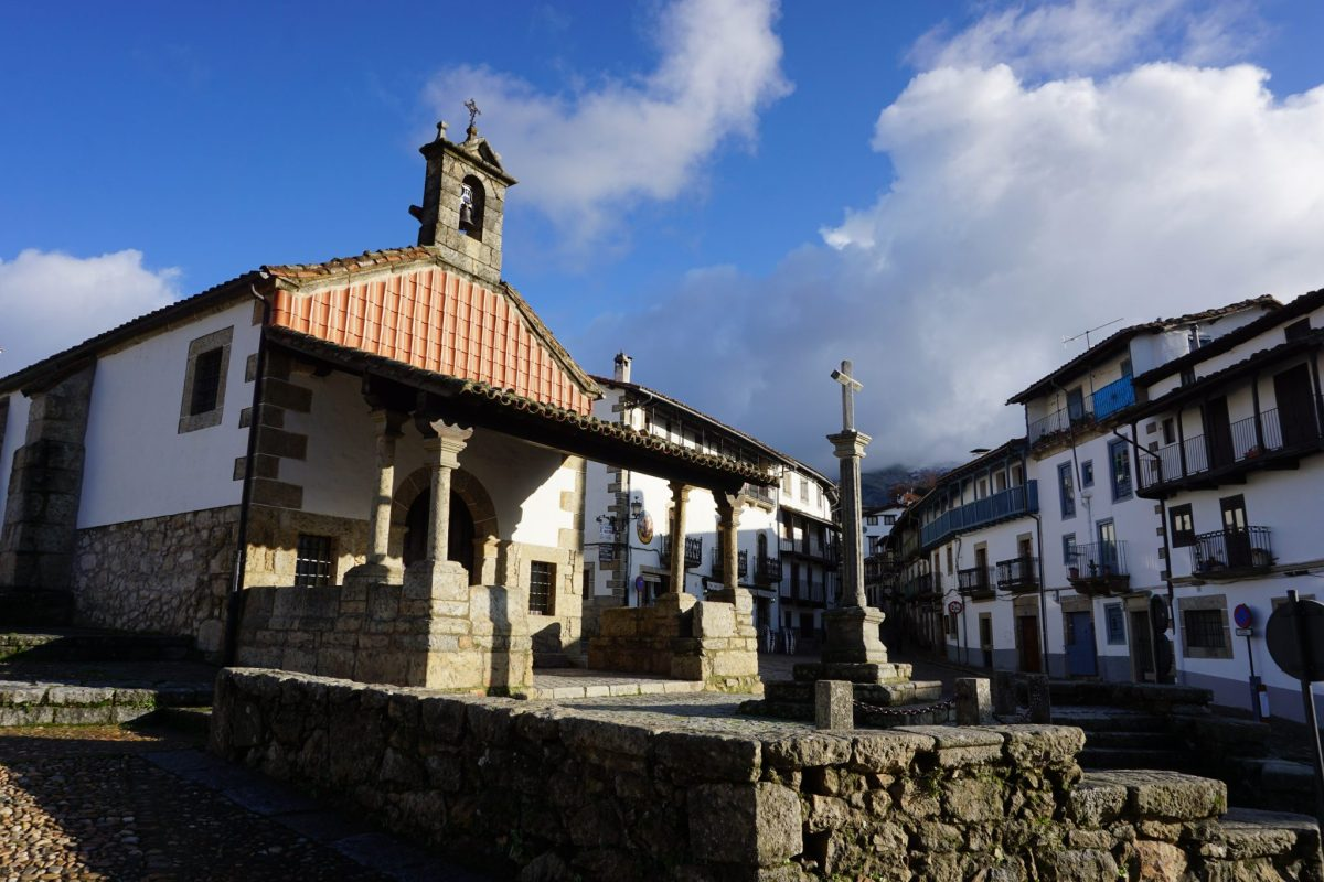 Candelario, uno de los pueblos más bonitos de Salamanca.