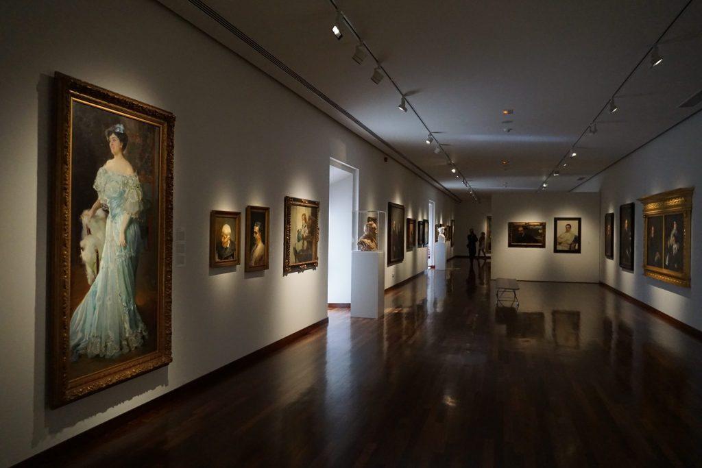 Sala de Joaquín Sorolla, Museo de Bellas Artes de Valencia