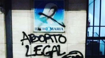 Ataque Radio María