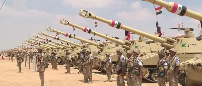القوات المسلحة تحتفل باليوبيل الذهبى لسلاح المدفعية فى ذكرى مرور 50 عاماً