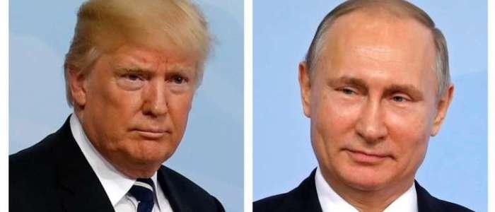 ترامب أخفي تفاصيل لقائه مع بوتين