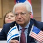 """السفير الأمريكي في إسرائيل: سندعم المفوضية العليا للاجئين بدلا من """"الأونروا"""" والقدس عاصمة إسرائيل """"بأمر من الله"""""""