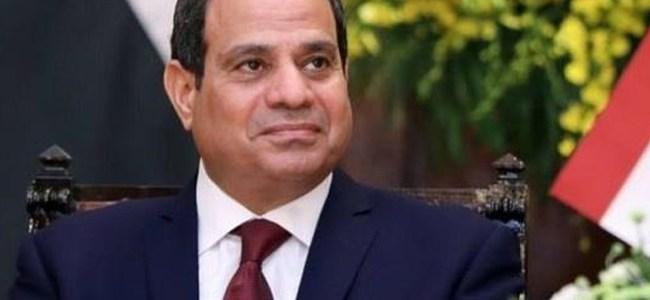 الرئيس السيسي: مصر وضعت دستورا قويا ذو أسس راسخة للحفاظ على البيئة