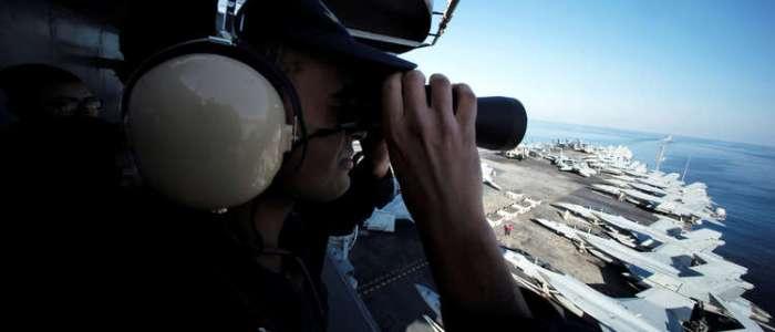 إيران تنفي ضرب حاملة الطائرات الأمريكية في الخليج بصواريخ