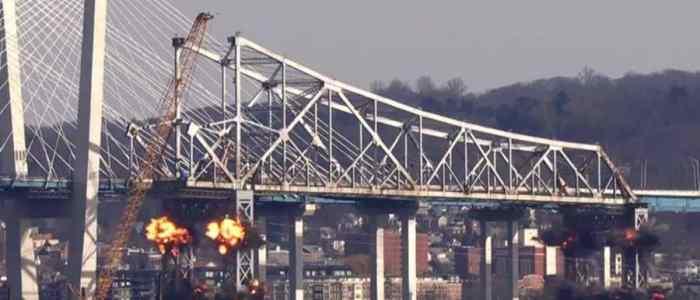 "تفجير جسر ""تابان زي"" في نيويورك"