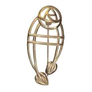 Cairn 711G Or Charles Rennie Mackintosh «Ruchill» Broche. Art nouveau. Fabrication britannique. Rennie Mackintosh Bijoux.