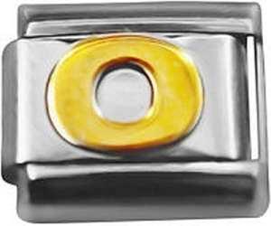Number 0 Convient breloque Italienne Classique Nomination & Zoppini Bracelets CHARMES