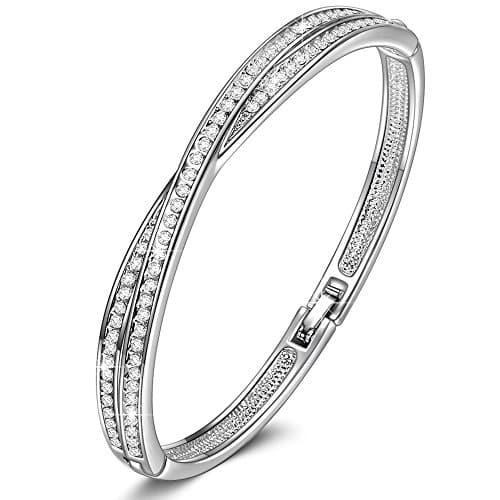 Susan Y Cadeau Noel Croix Bracelet Pour Femme Avec Des
